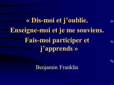 Apprentissage...