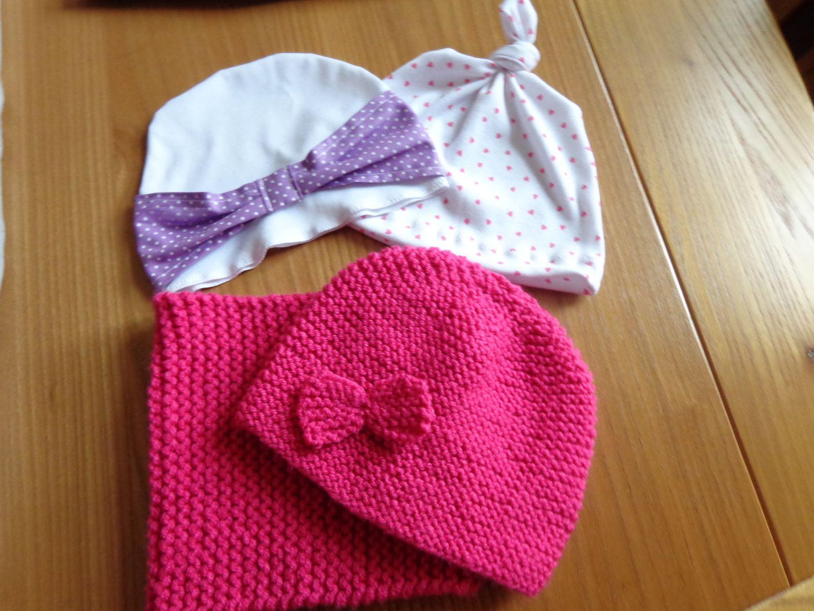 Le petit sac pour ranger les bonnets
