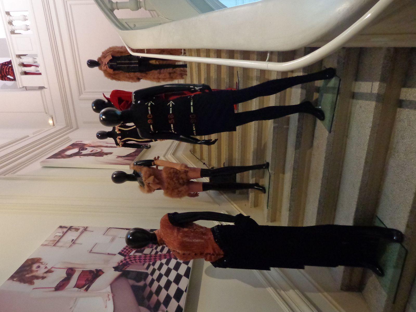 Chantal Thomass au musée de l'Impression sur Etoffes de Mulhouse