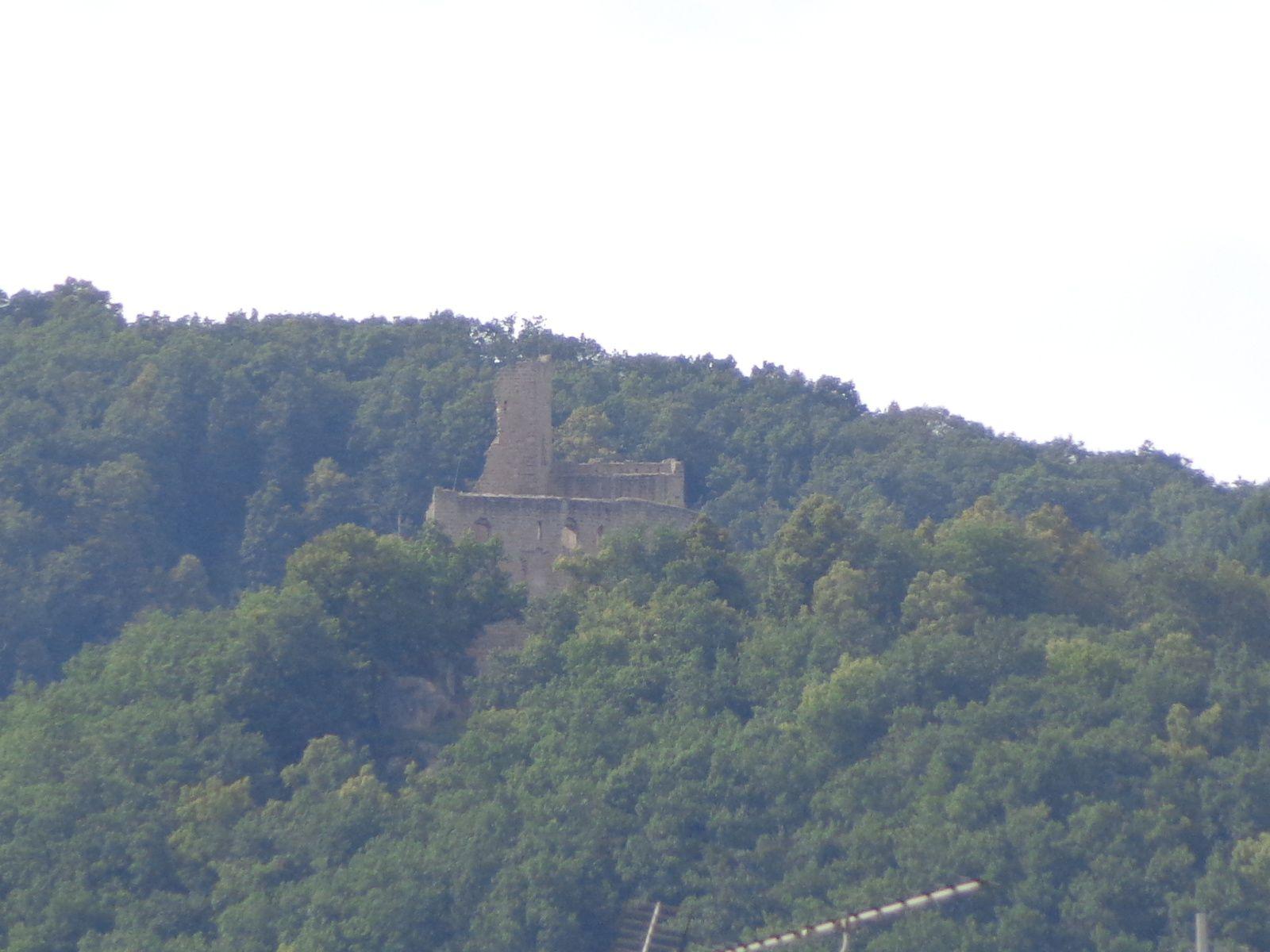 château de Spesbourg et le château d'Andlau