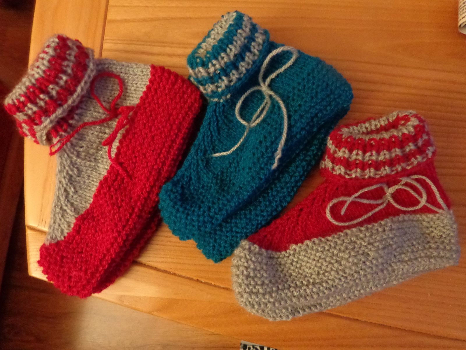 Coté couture, coté tricot...