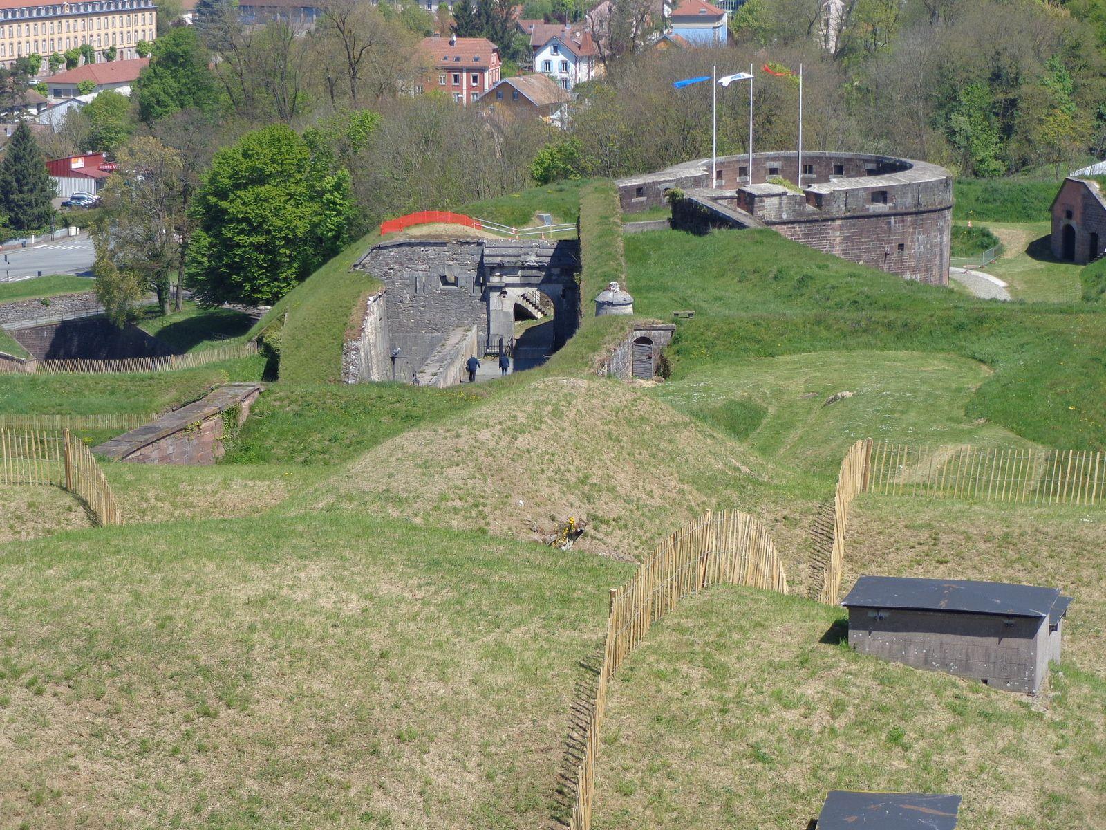 Belfort: sa citadelle et son lion