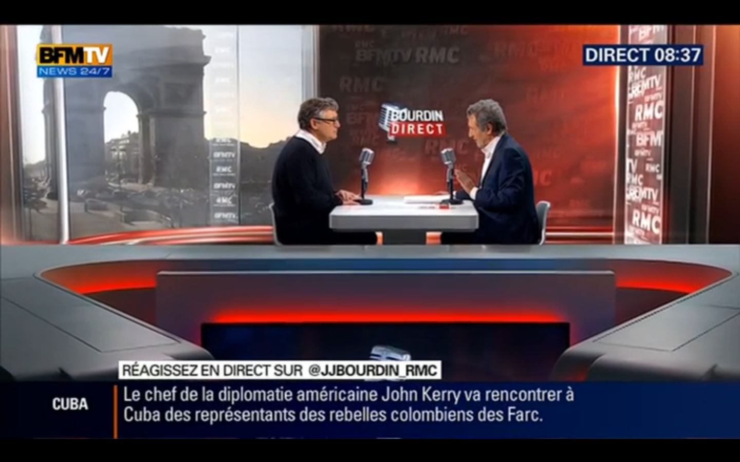 Michel Onfray - Bourdin Direct (BFMTV) - 21.03.2016