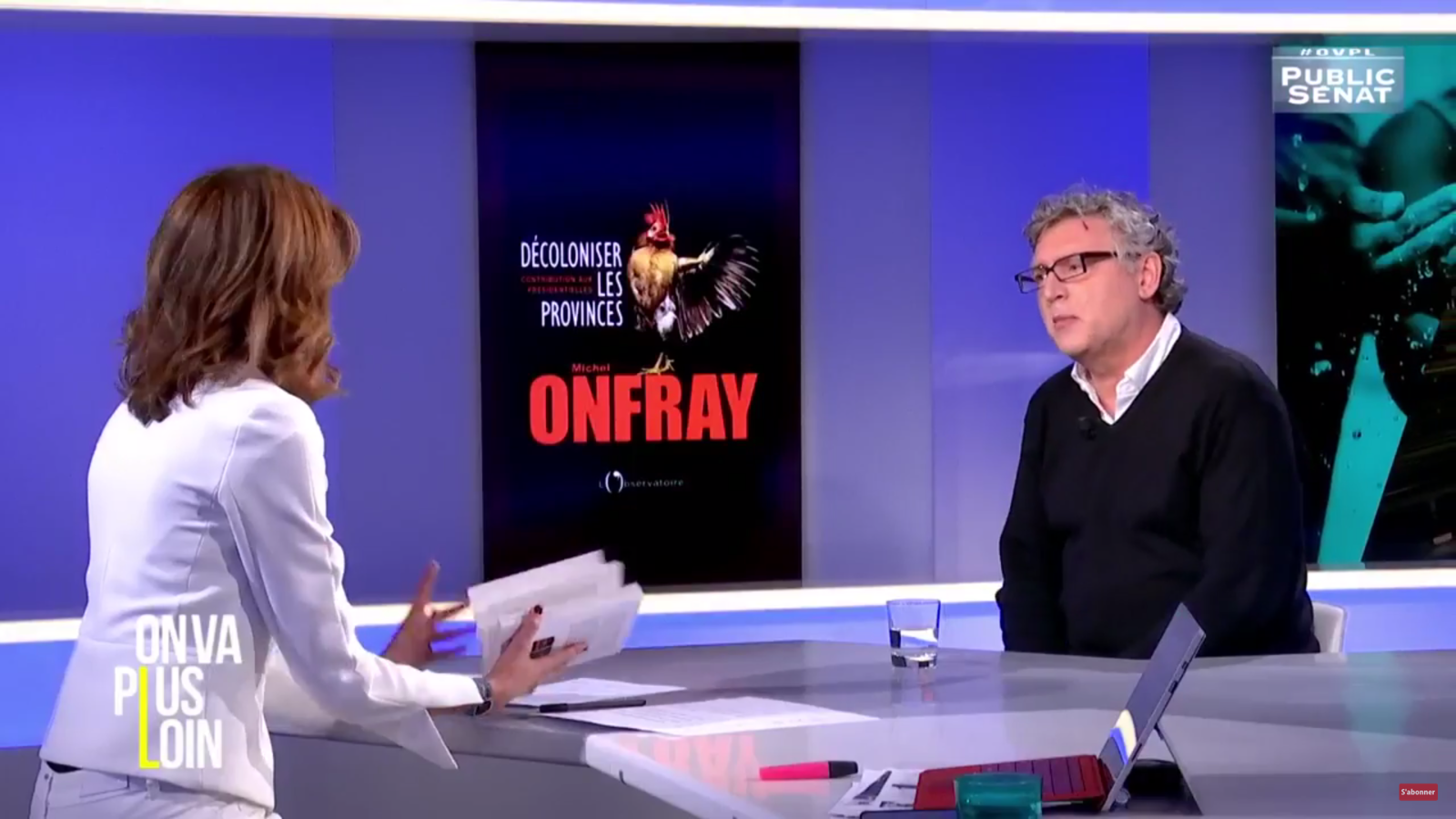 Michel Onfray - On va plus loin (Public Sénat) - 24.03.2017