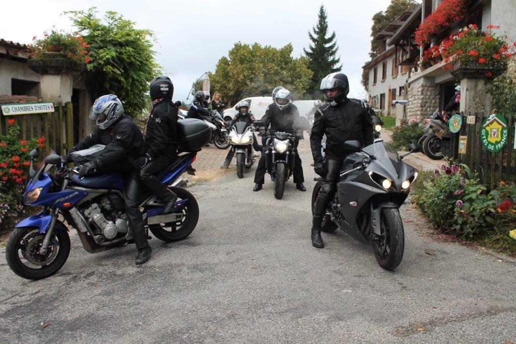 les motards de Cavalaire