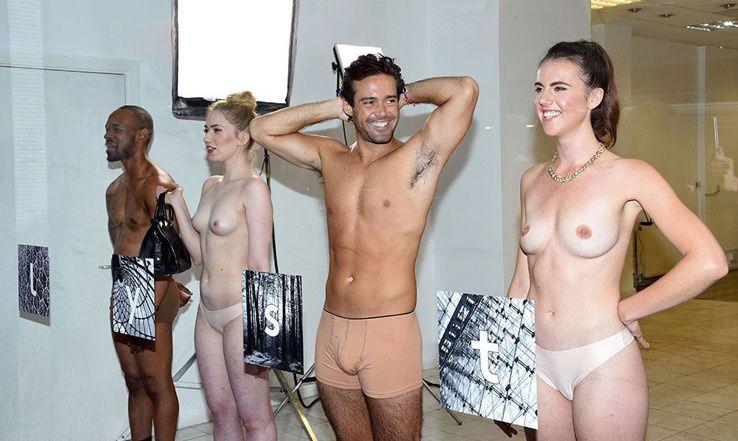 Lyst utilise la réalité augmentée pour rhabiller les célébrités nues