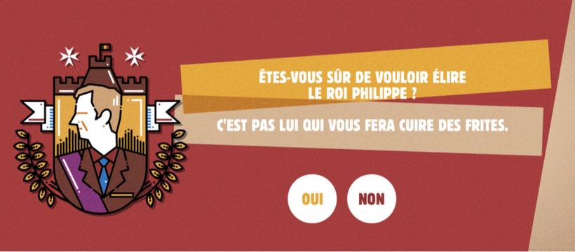 Burger King fait campagne face… au roi des Belges