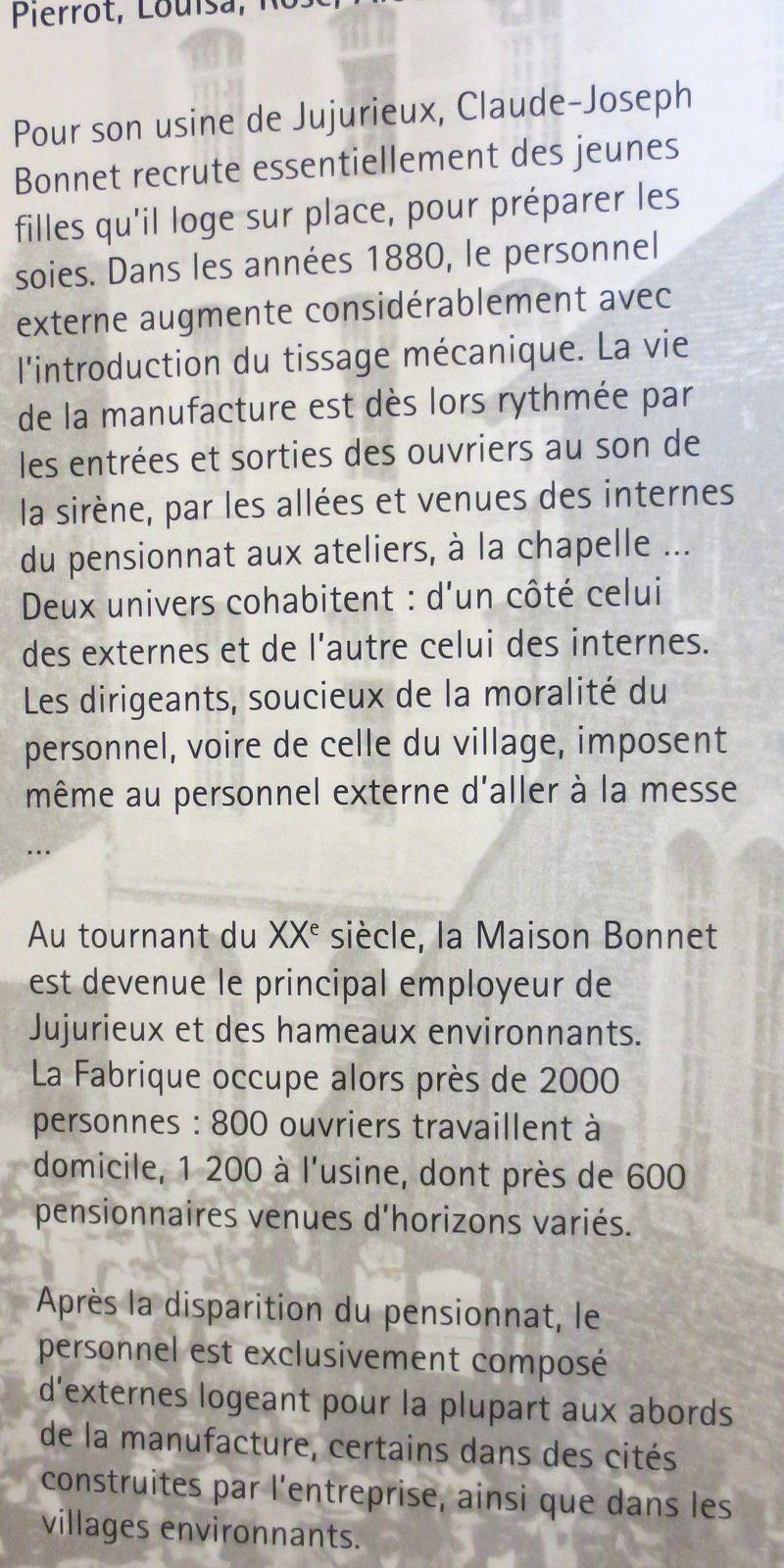2ème partie - Soieries Bonnet - Histoire