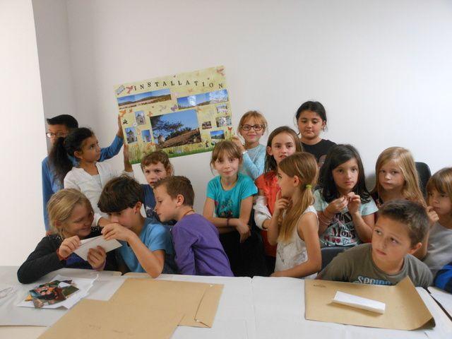 ENFIN UNE DES REALISATIONS DE LA CLASSE DE CE2