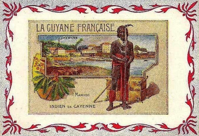 Les chromolithographies d'avant guerre sur la Guyane