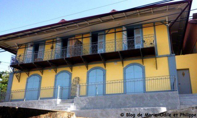 Les maisons créoles et les bâtiments publics anciens de Cayenne