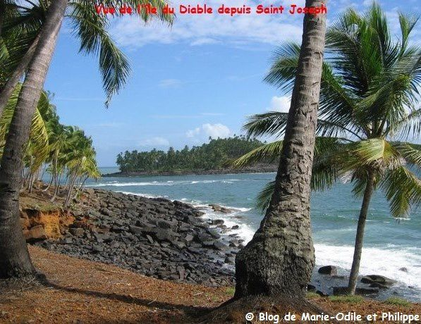 Les Îles du Salut en Guyane française
