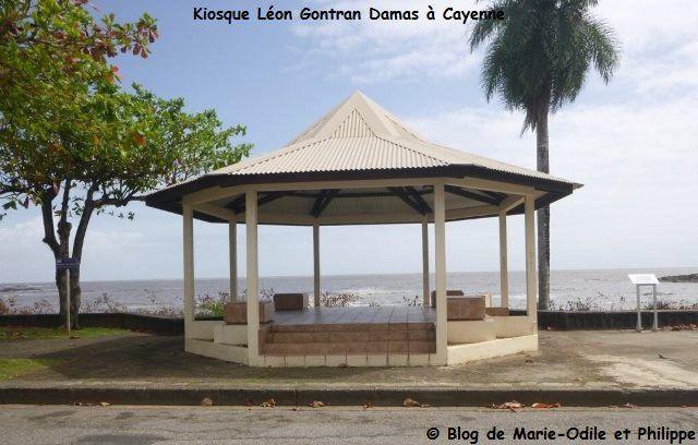 Quelques photos de cases, de maisons créoles, d'églises de la Guyane, de bâtiments officiels ...