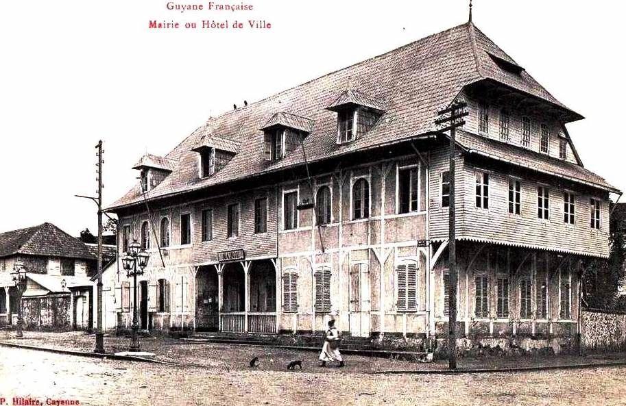 Gros plan sur Flavin Eleuthère Le Blond, Président du Conseil général de la Guyane entre 1898 et 1902 (Maire de Cayenne entre 1898 et 1900)