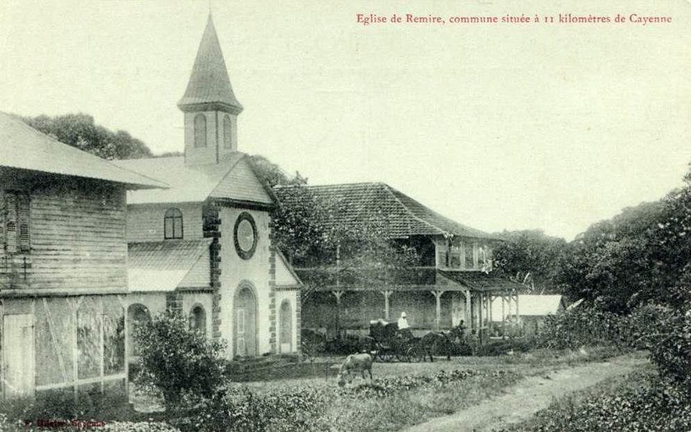 Ancienne école du bourg de Remire (Guyane)