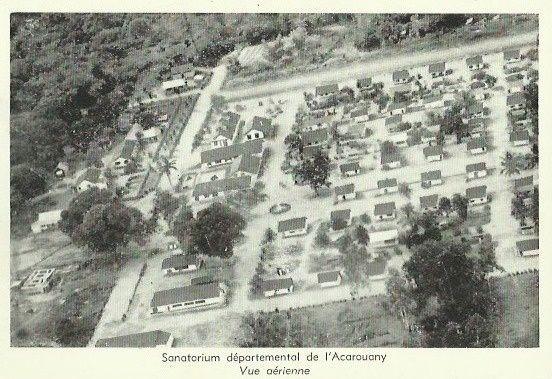 Ancienne léproserie de l'Acarouany près de Mana (Guyane)