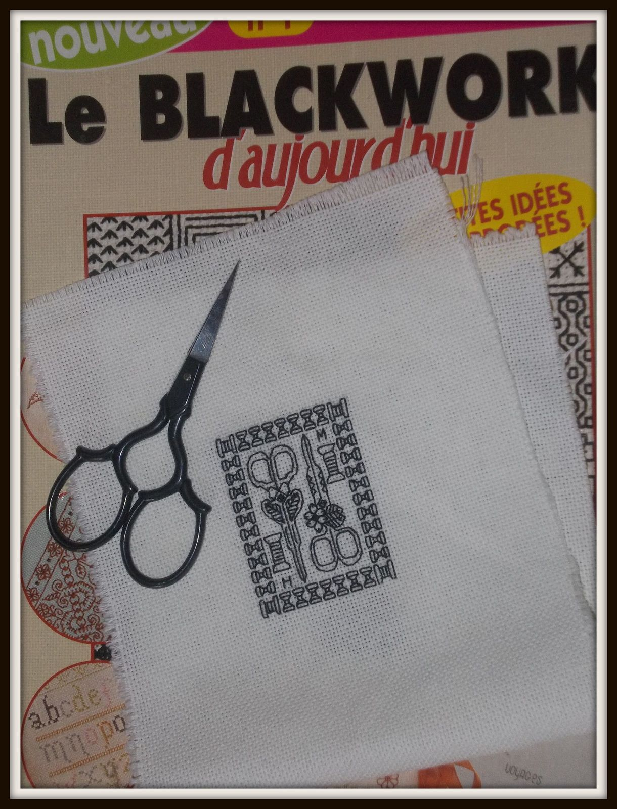 Un peu de Blackwork...