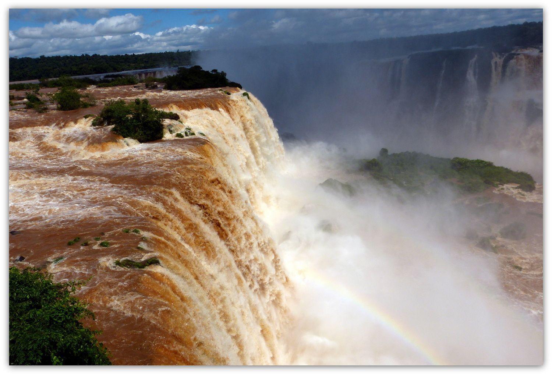 A Iguazu … que d'eau, que d'eau !!