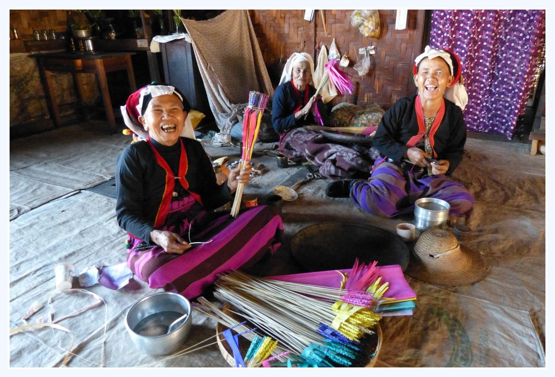 Kyaukme: Trek à moto dans les villages Palaung et Shan