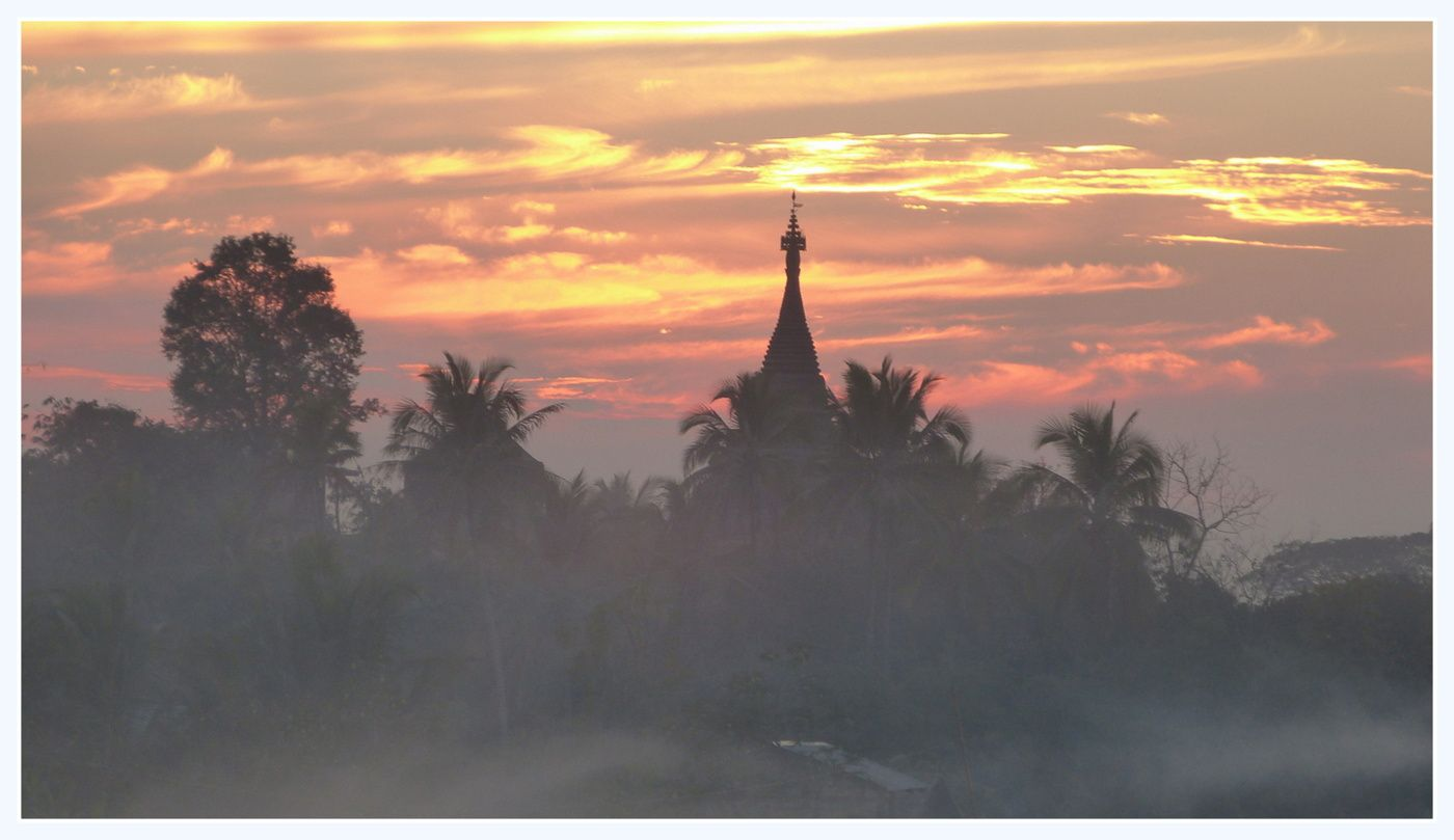 A Bagan et à Mrauk-u: des temples à gogo!!