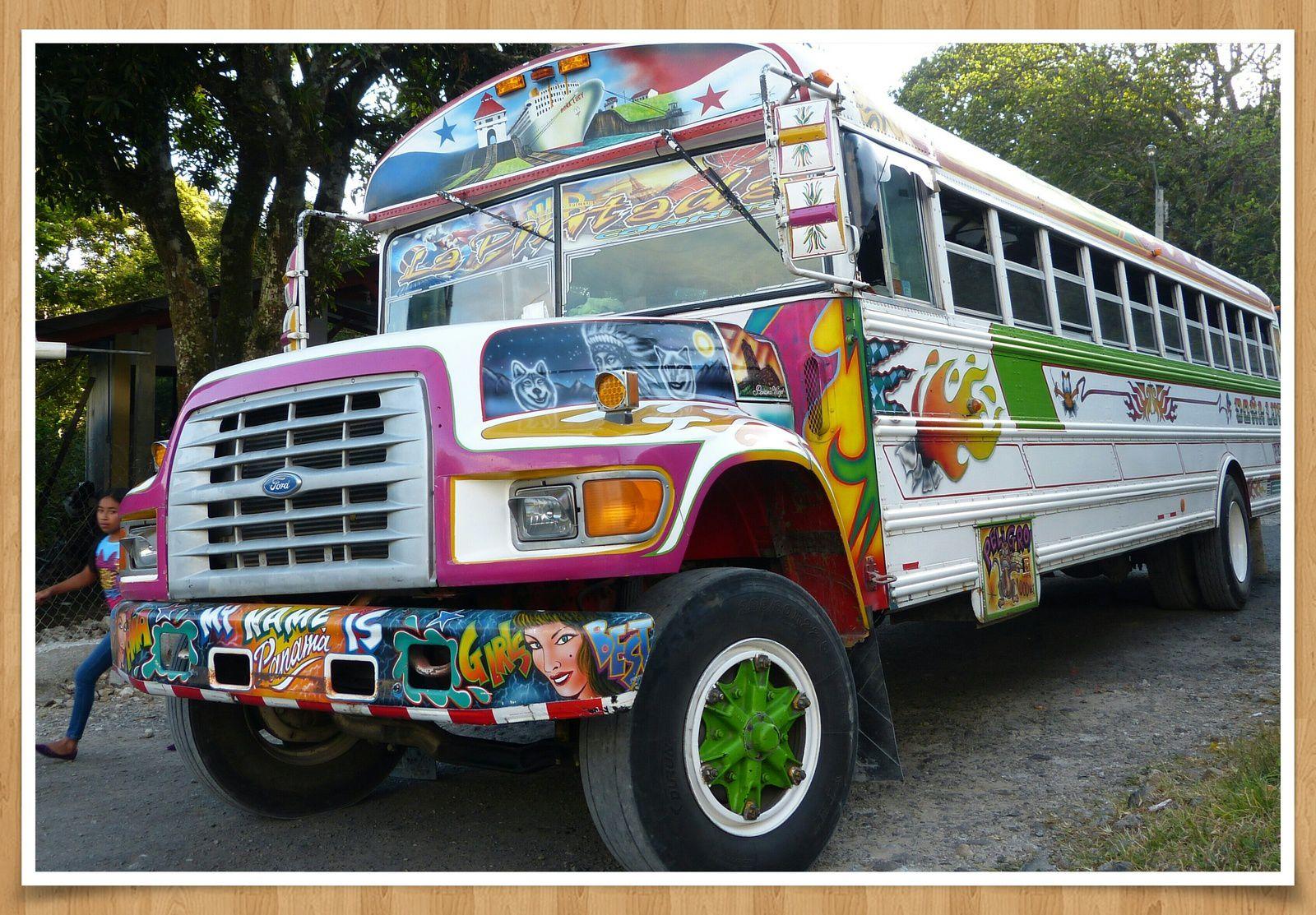Une jolie surprise sur la route du Panama