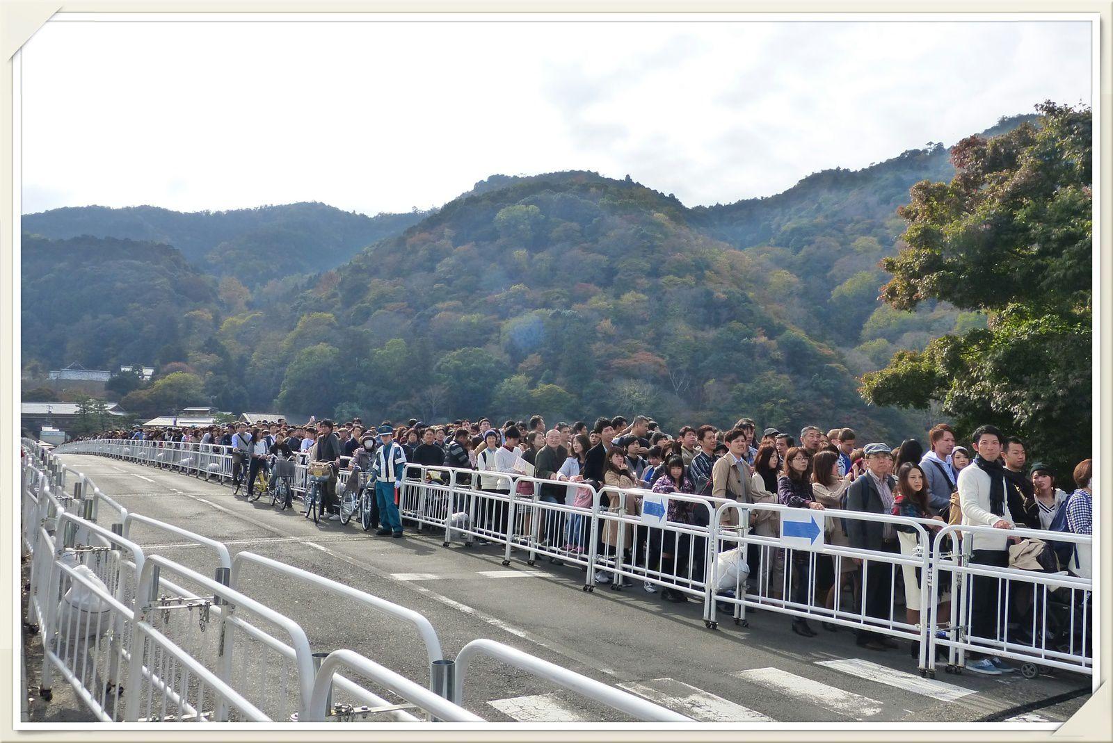 京都の群衆 Kyōto no gunshū.....foule à Kyoto