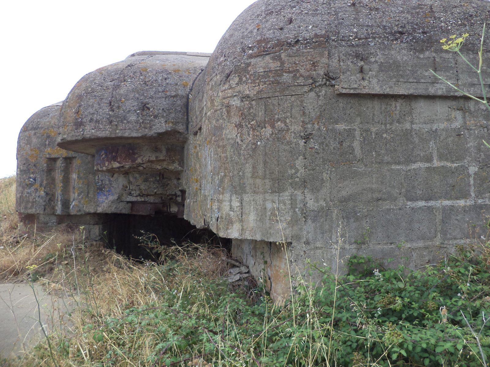 COLLIOURE :les bunkers