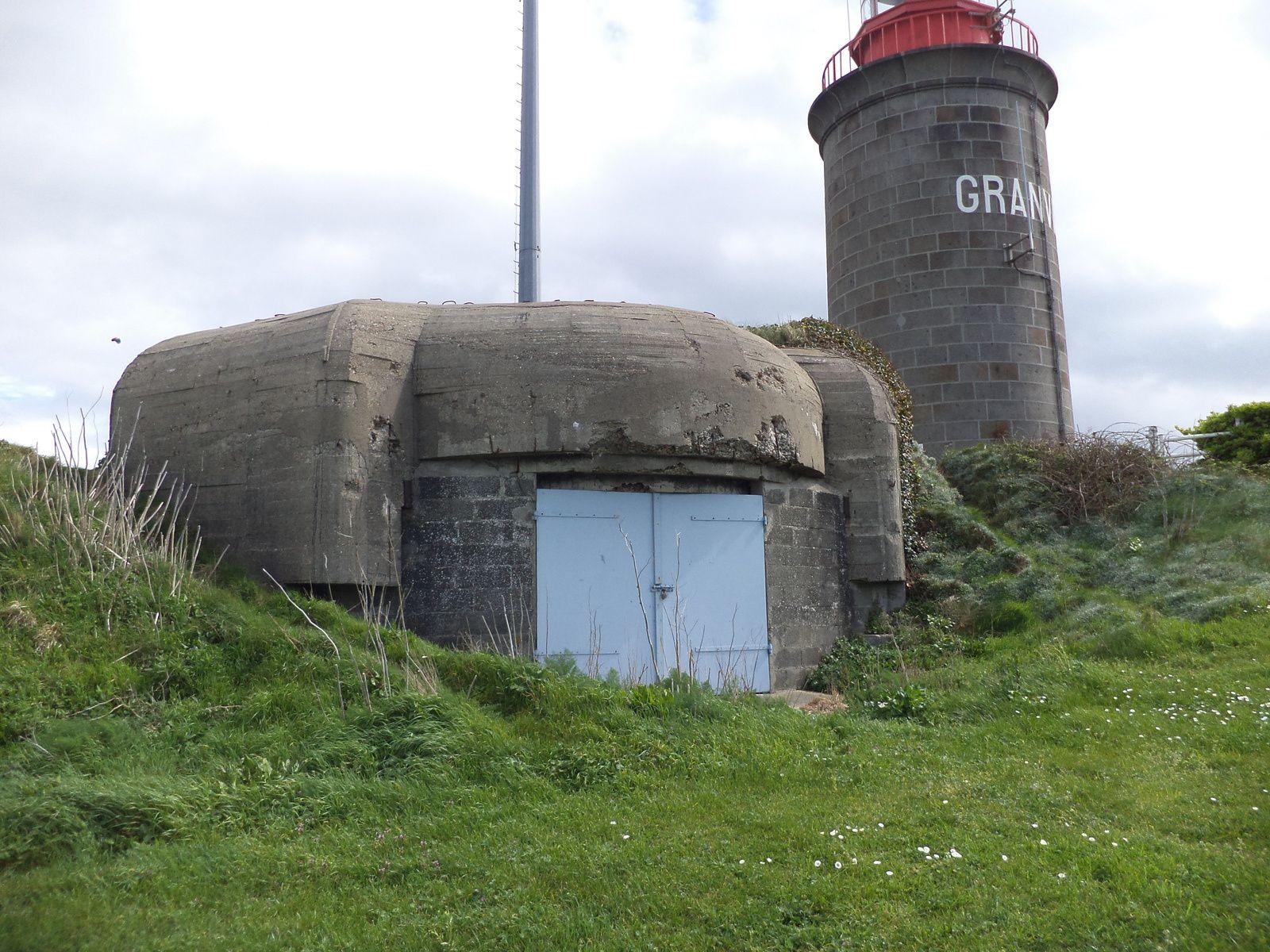 bunker pour canon de 105 mm