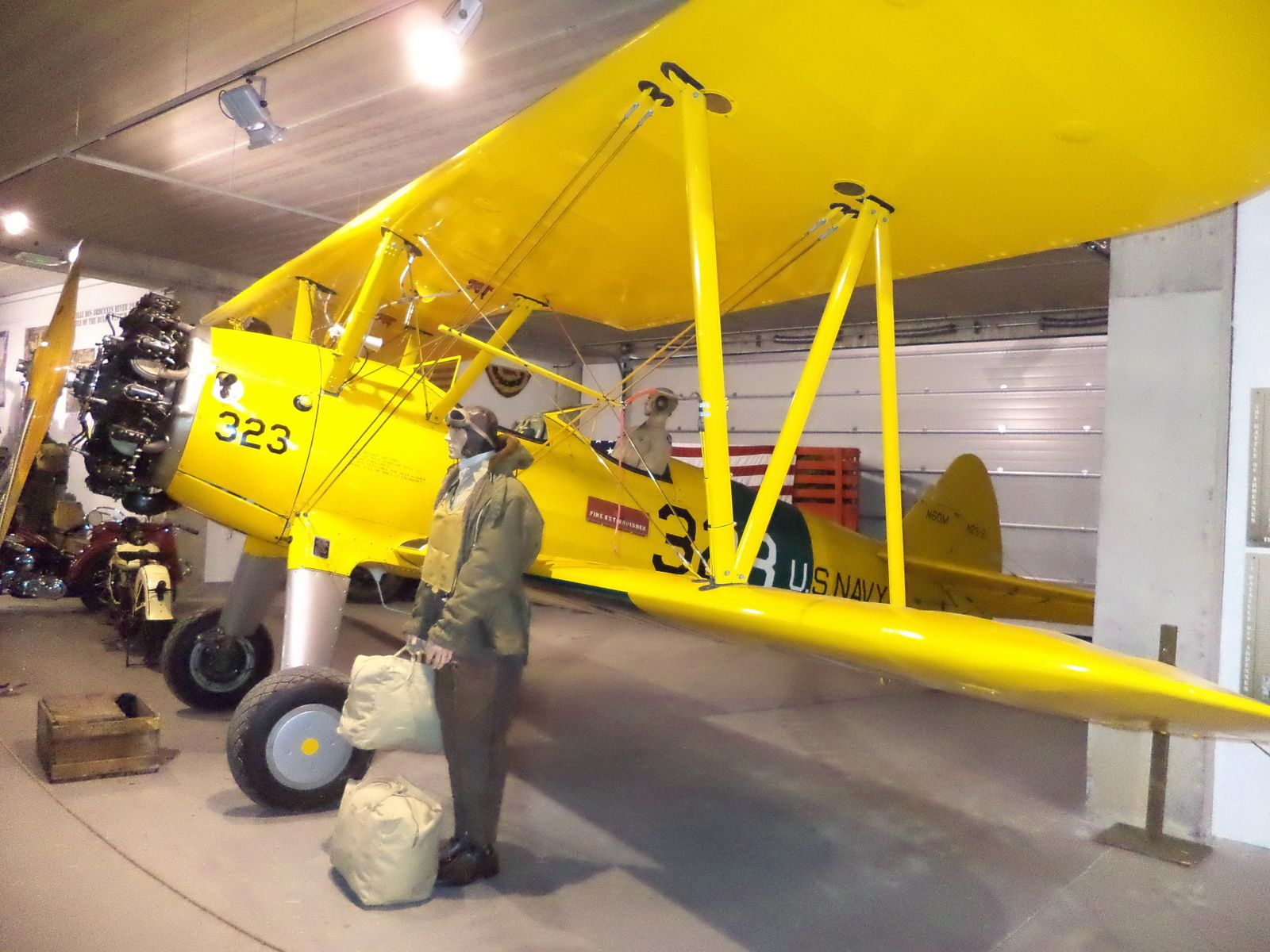 appareil d entrainement des pilotes américains.