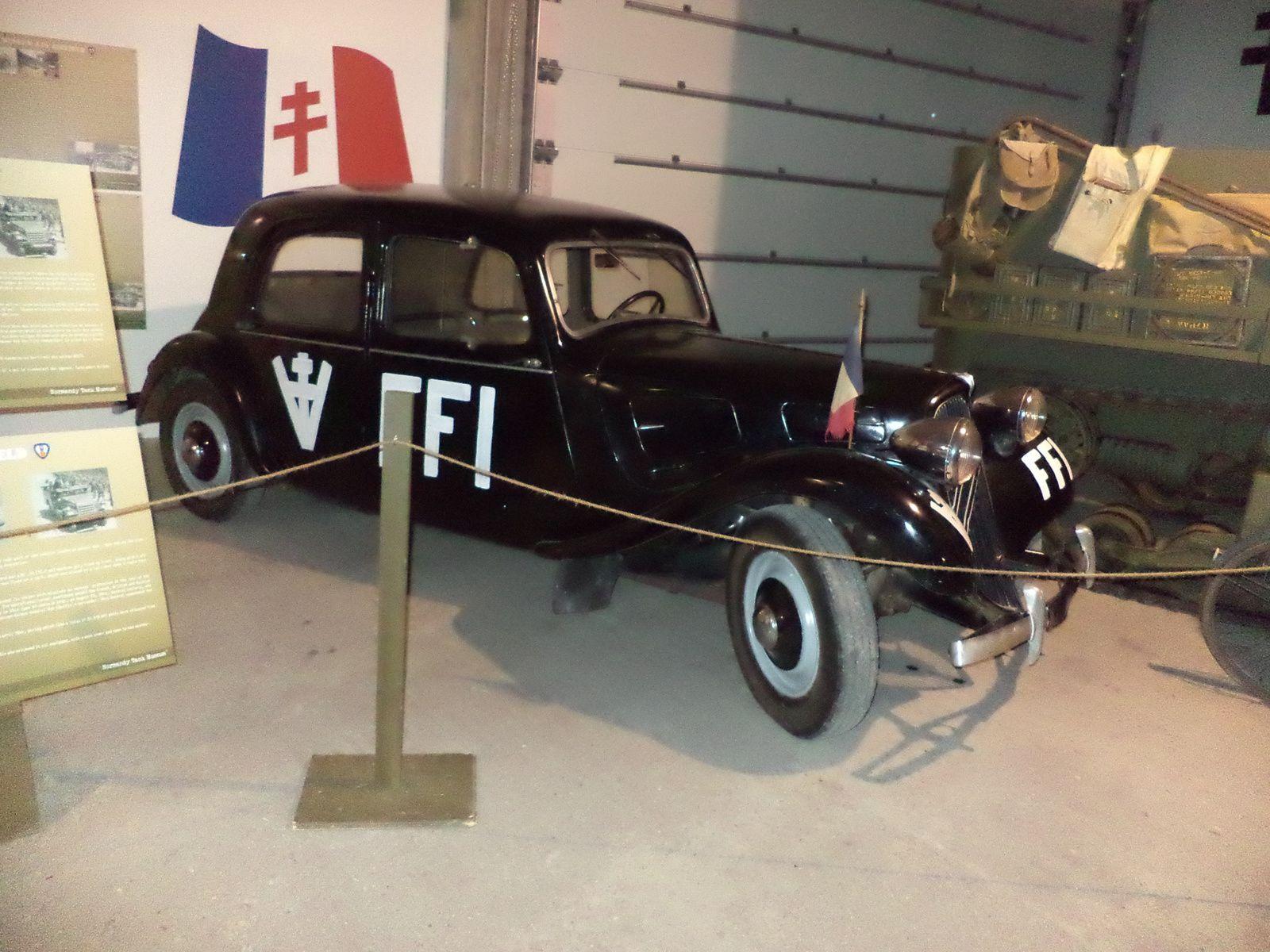 une Citroën de la résistance française.