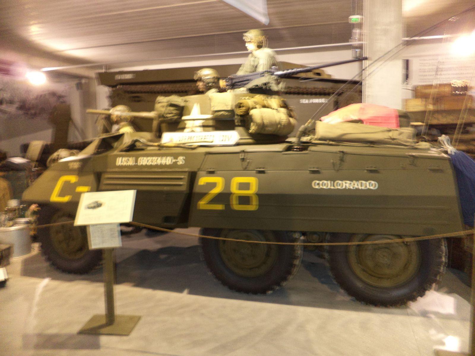 une auto blindée M8