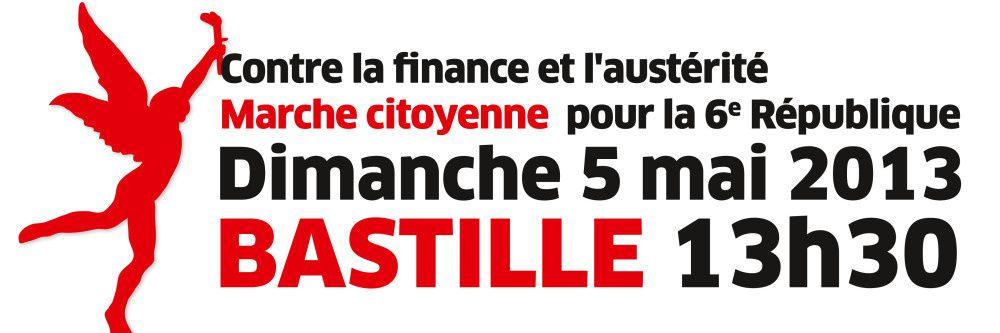 Le 5 mai ! Marche citoyenne pour la 6e République