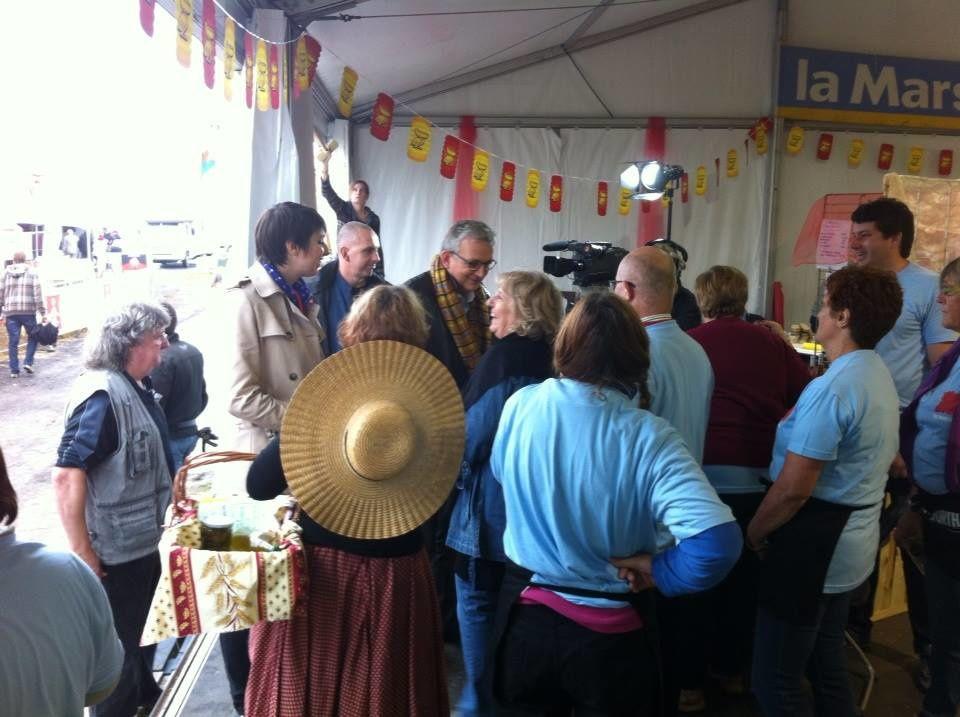 Retour en images sur la Fête de l'Huma dans le stand du Gard