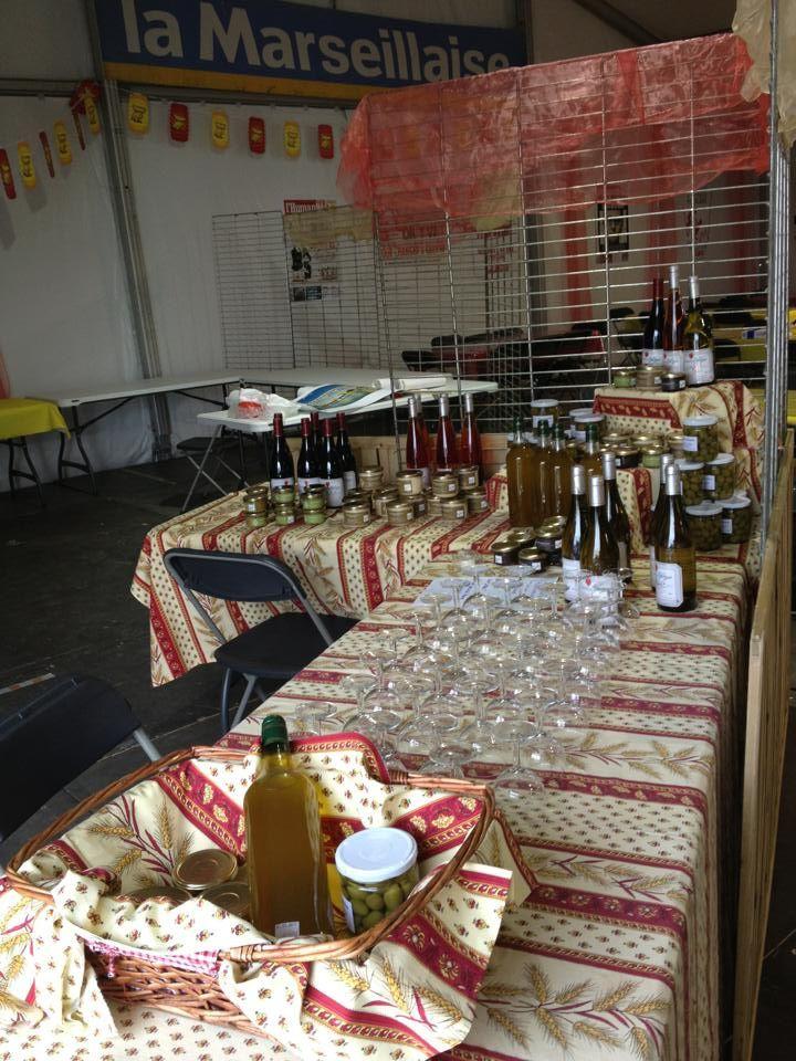Le stand du Gard prêt à vous accueillir dès demain à la Fête de l'Huma