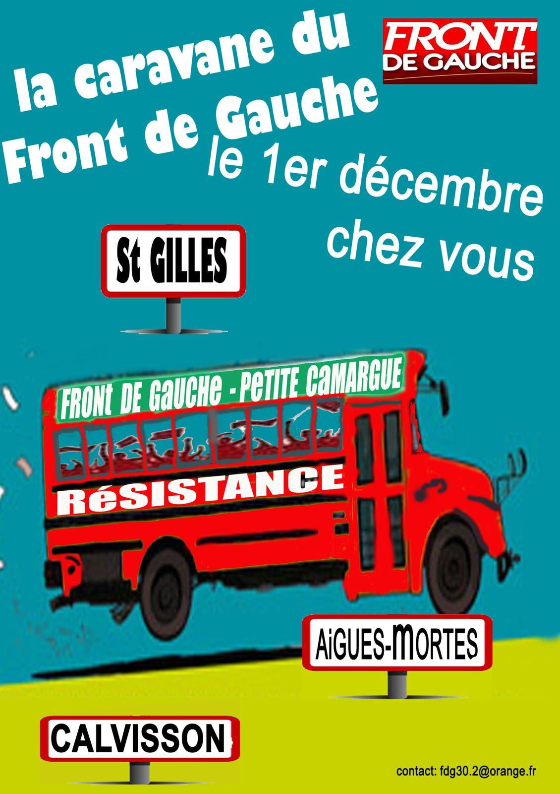 Semaine d'actions pour la justice fiscale et contre l'austérité dans le Gard