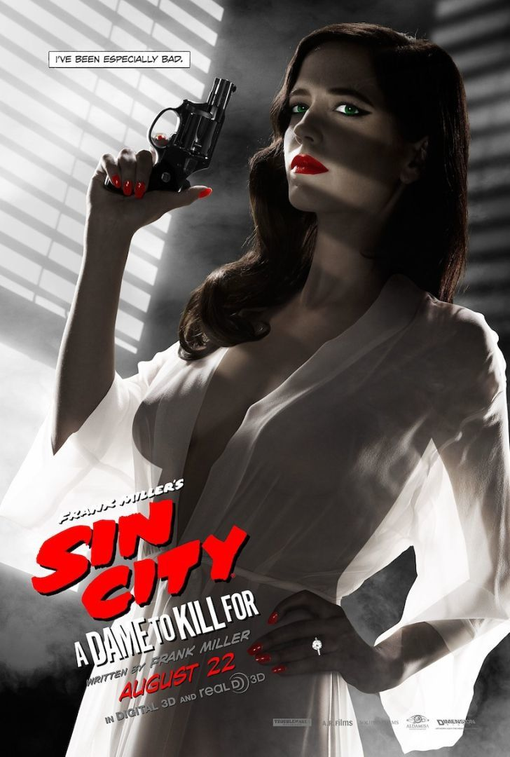 EVA GREEN : A DAME TO KILL FOR