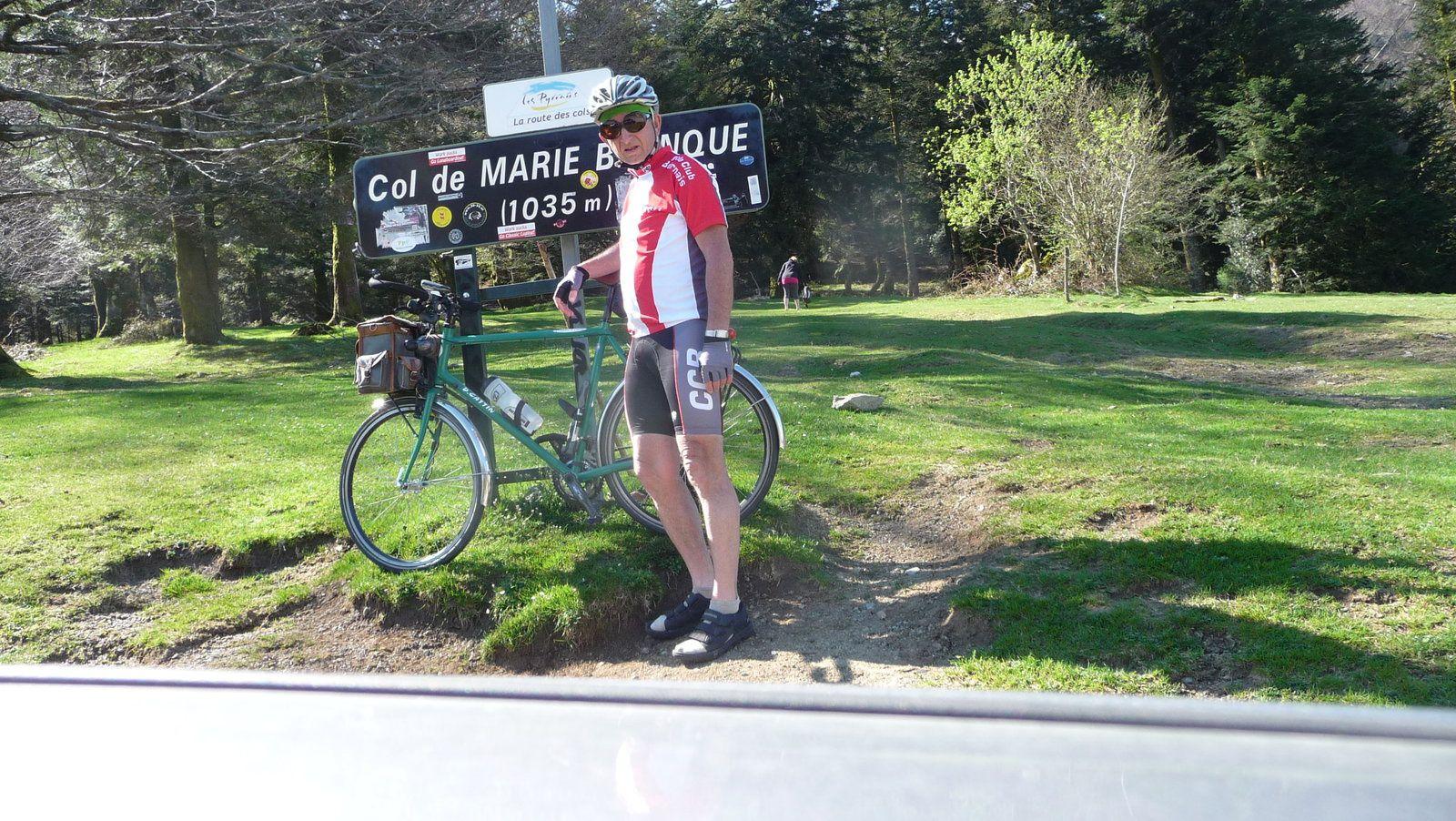 Le Col de Marie Blanque.