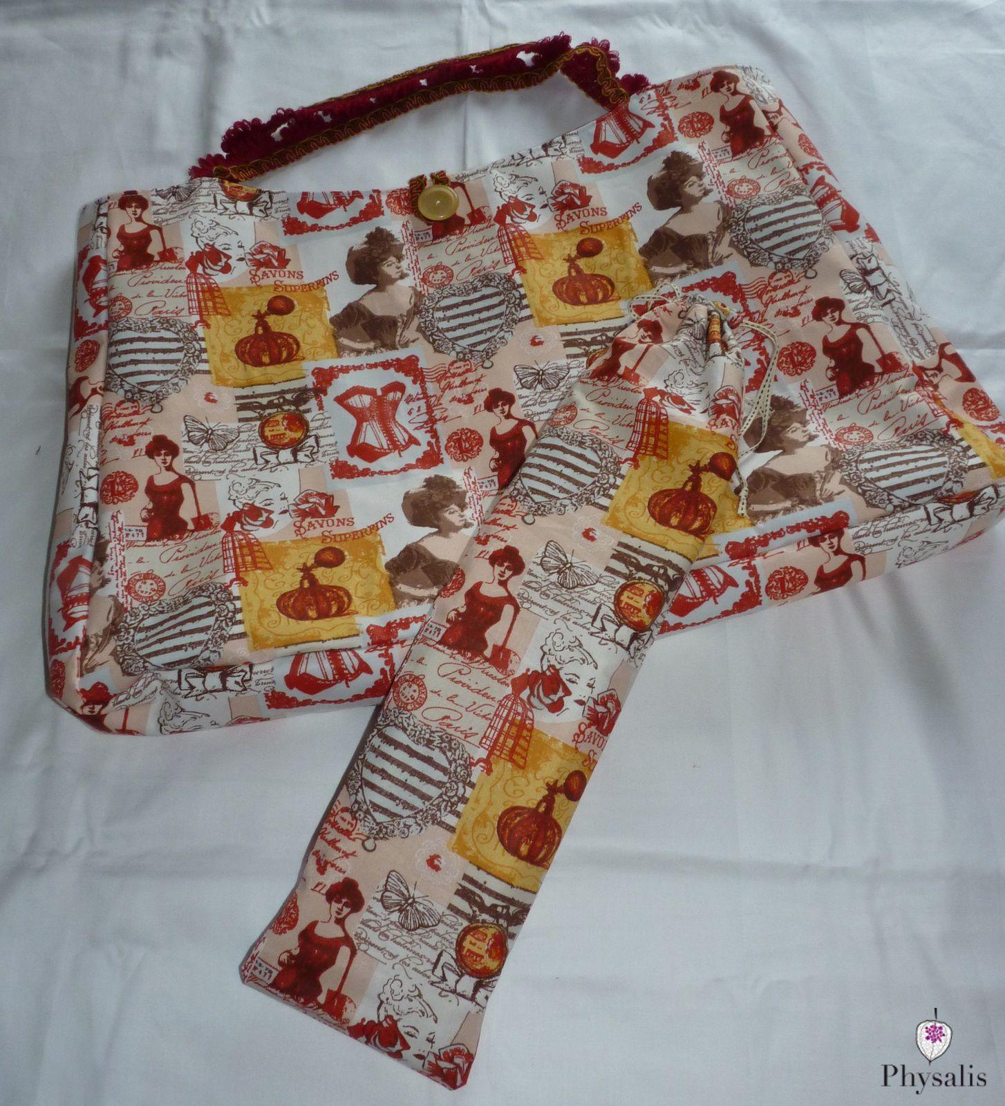sac pour tricot le royaume de physalis cr 233 ations originales et uniques
