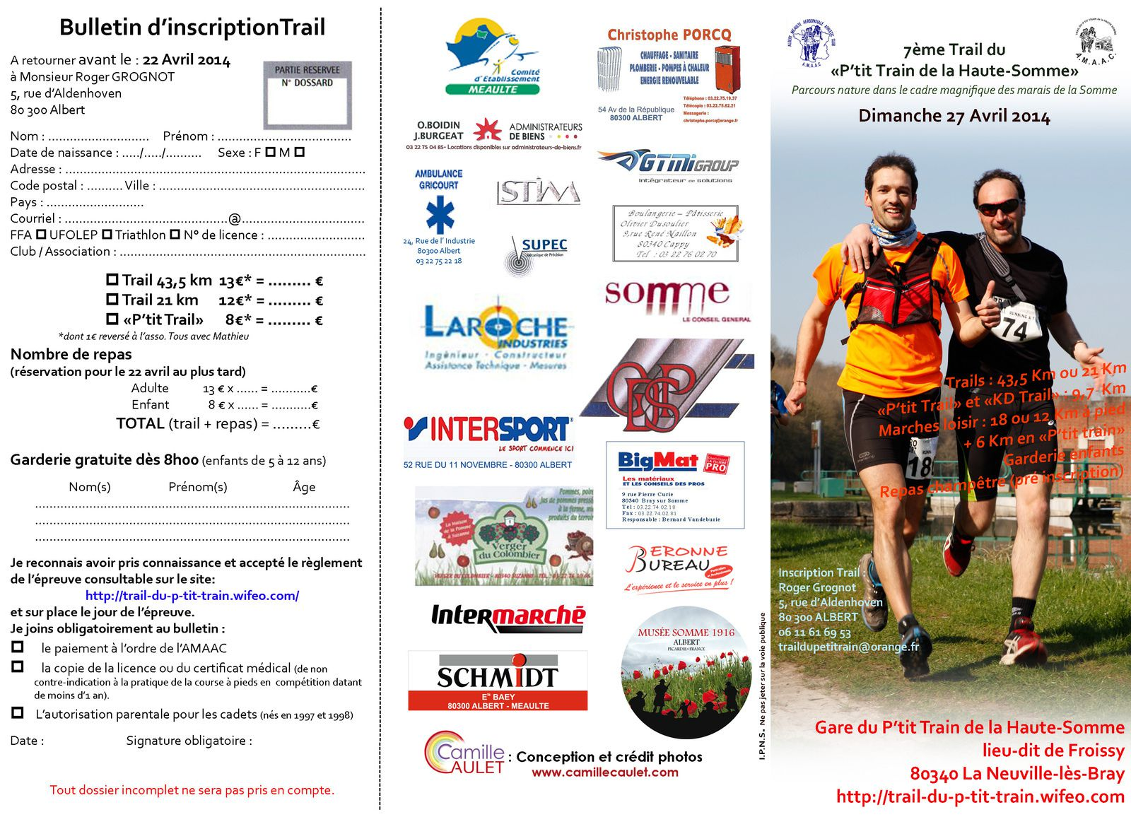 Trail du p'tit train de la Haute Somme