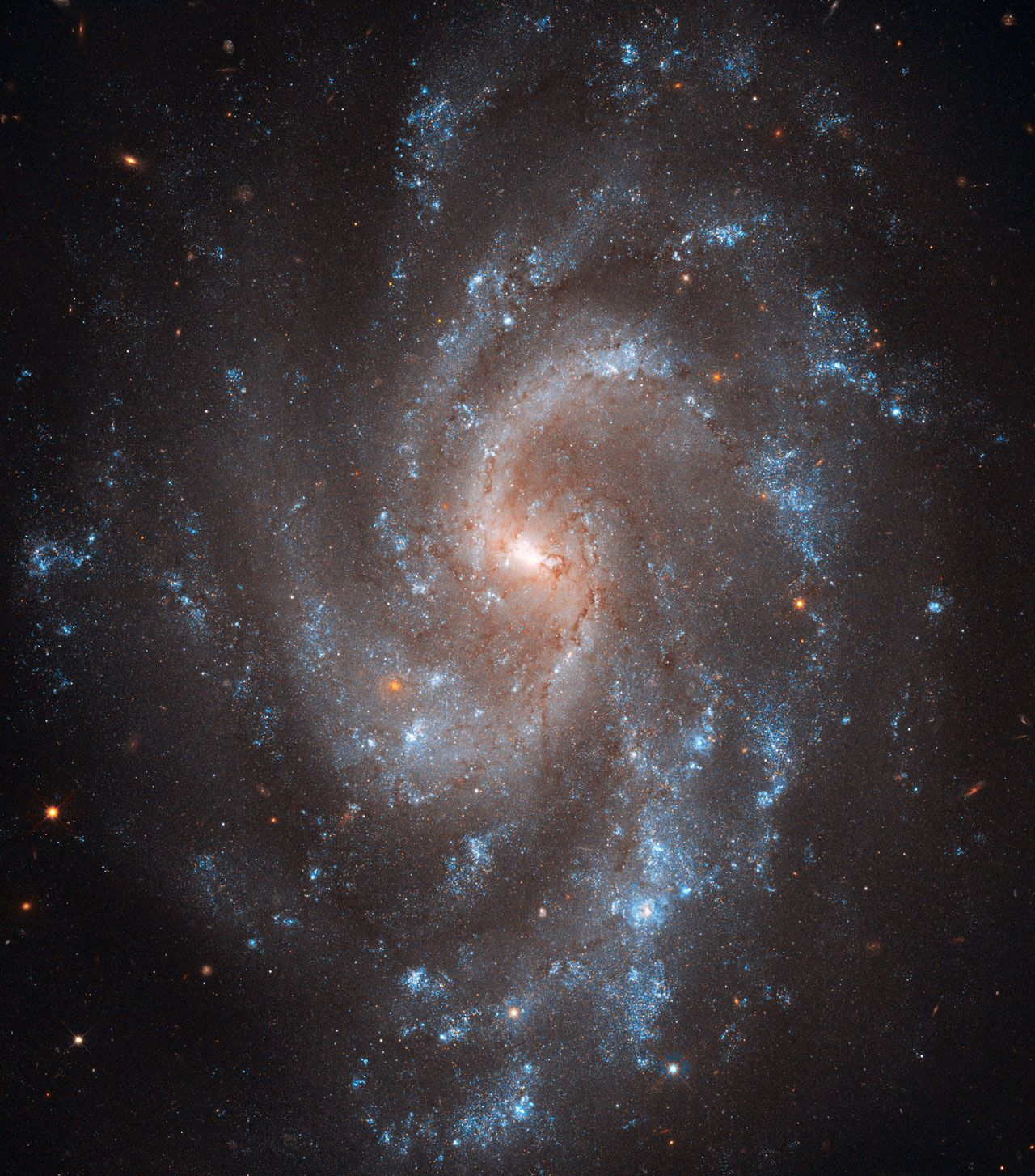 Galaxie NGC 5584, Constellation de la Vierge, Photo ESA Hubble 2011