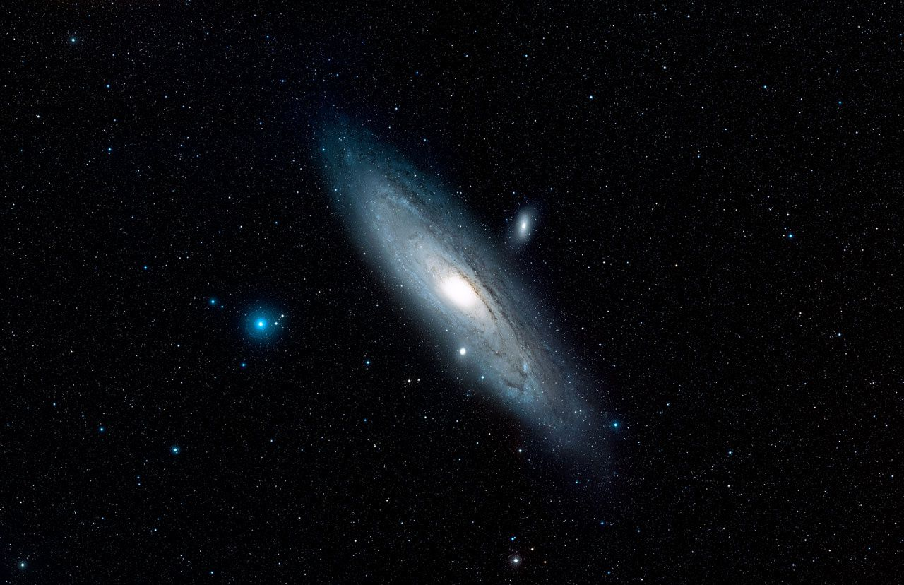 Andromède, Photo ESA Hubble 2015