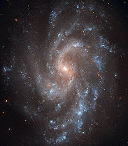 Galaxie spirale NGC 5584 photo ESA/Hubble