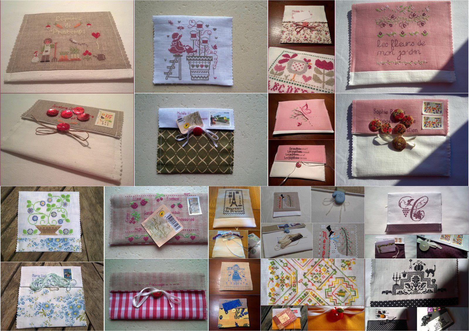 Echange d'enveloppes brodées 2016 - inscriptions closes