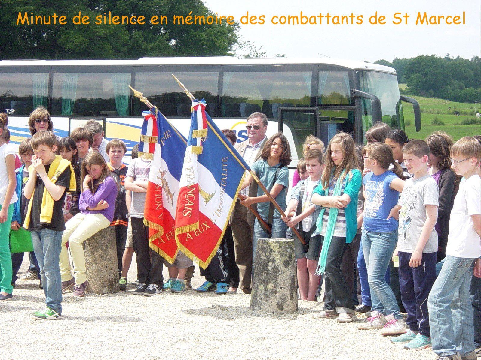 """Cérémonie au """"Monument de la Résistance du Maquis de la Nouette"""" MEMOIRE et RECUEILLEMENT"""