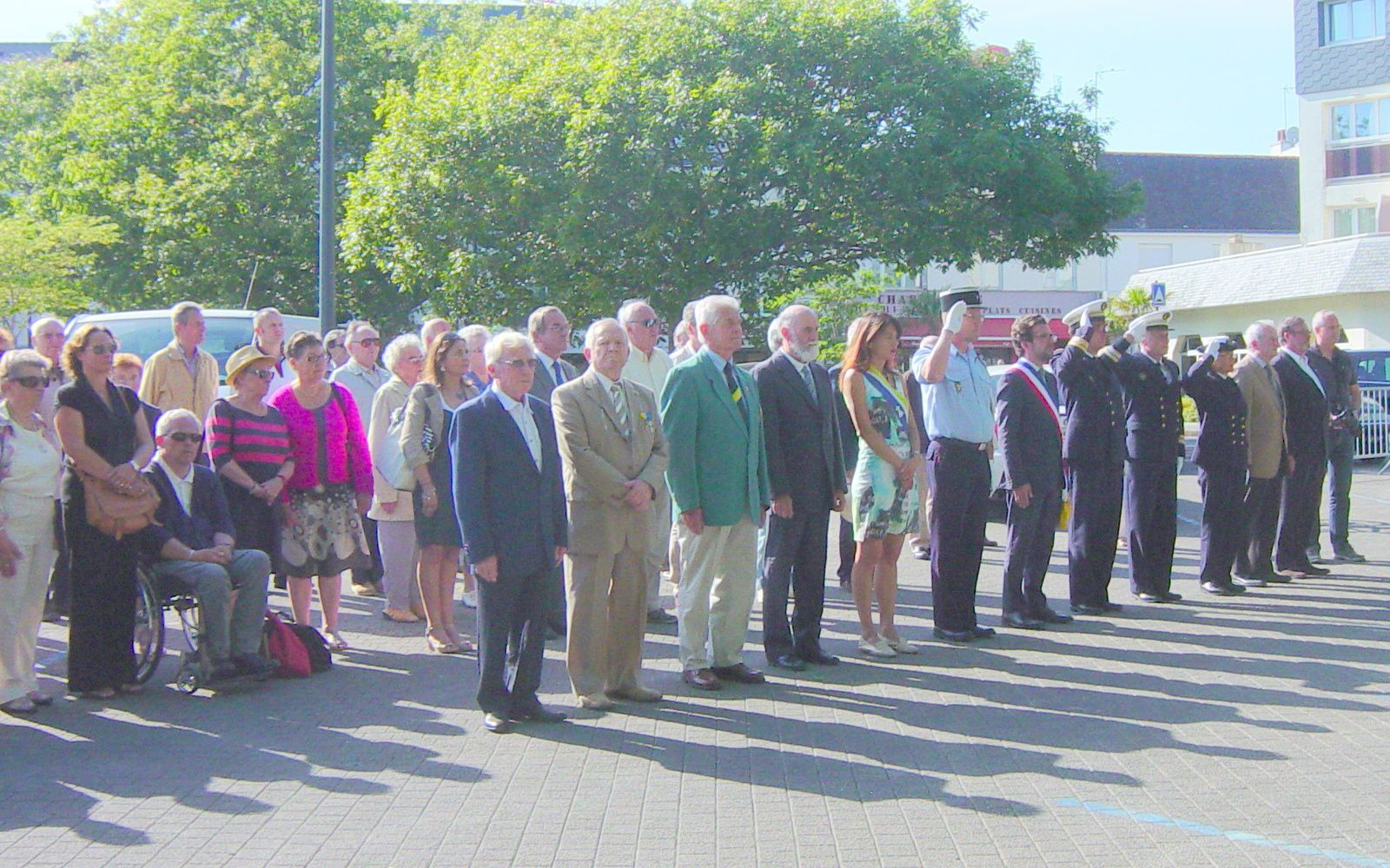 Commémoration de l'Appel du 18 juin 1940.