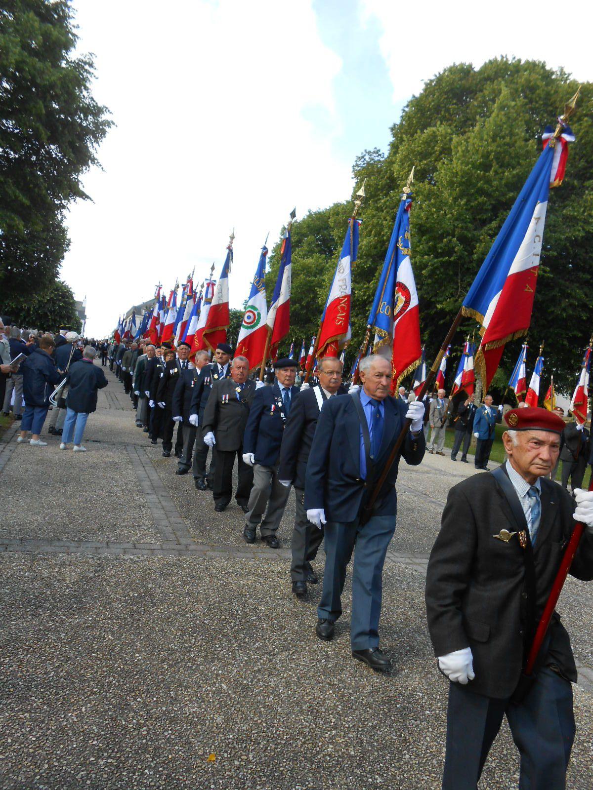 Pèlerinage des anciens combattants à Sainte Anne d'Auray