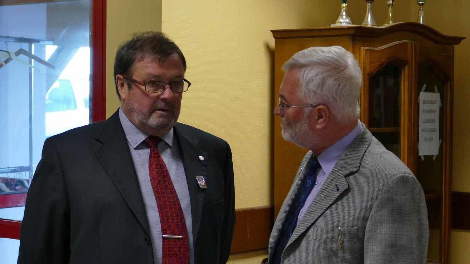 Le Président Joël SEVENO et le Délégué Général Jacques JOLY