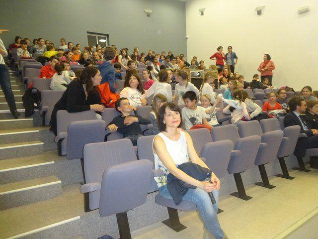 Concours scolaire : remise des prix à Ploemeur