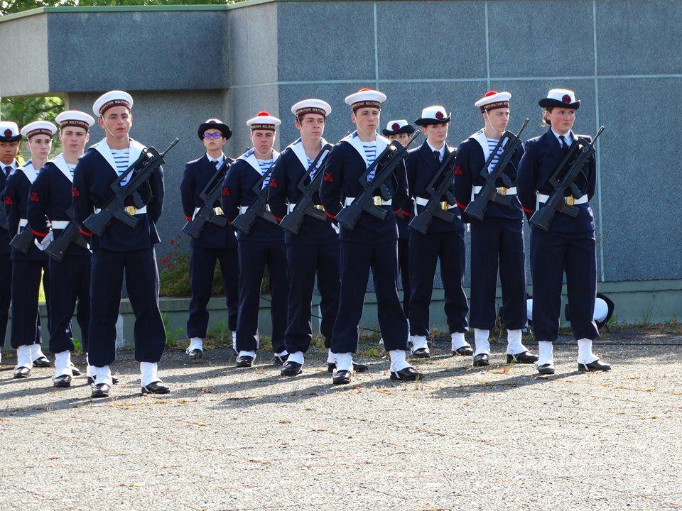 Cérémonie de remise des insignes à la PMM Lorient.
