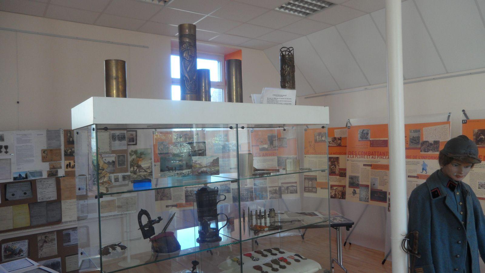 Exposition guerre 14/18 Ploeuc-sur-Liè.